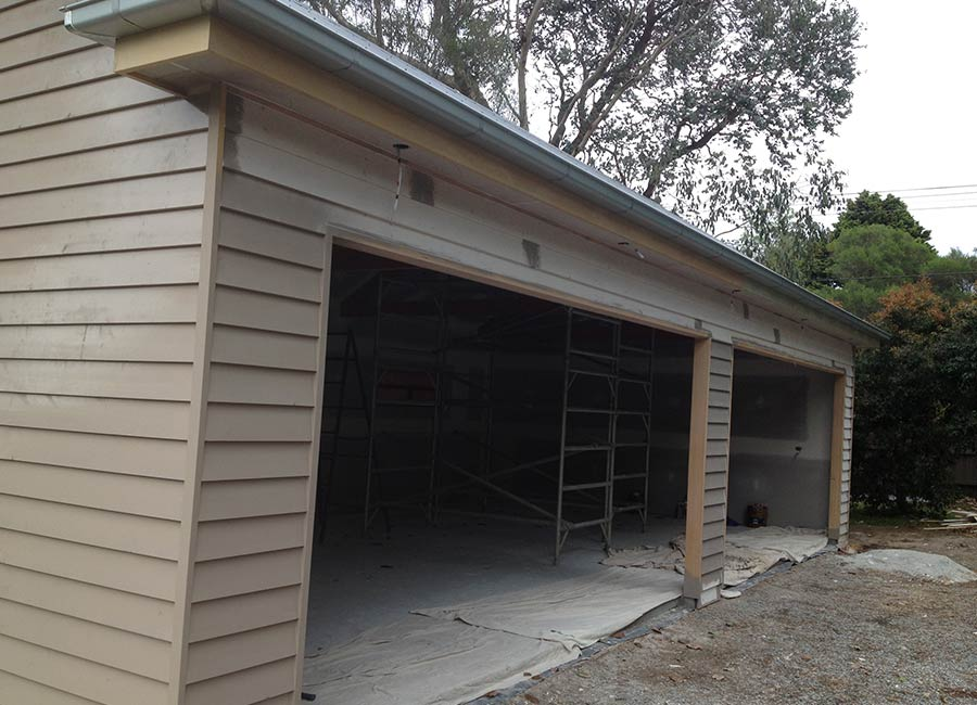 Complete Garage Build Project 1